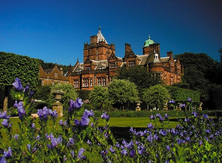 Holker Hall and Gardens in Bloom