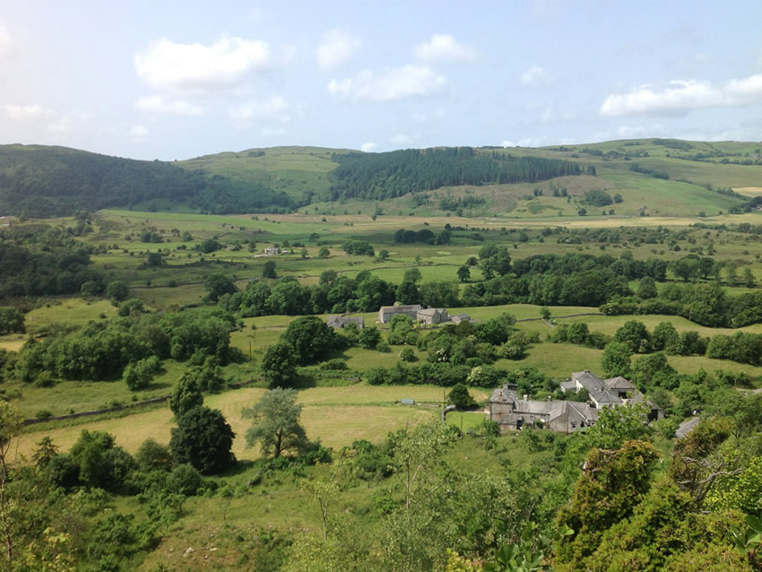 South Lakes walk in Witherslack