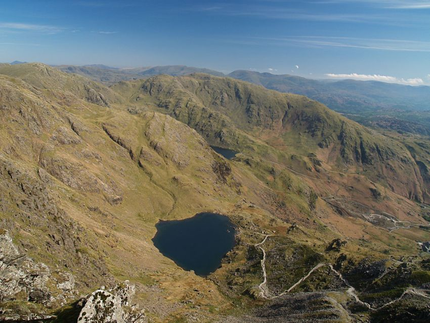 Old Man Coniston Hike (view from the top)