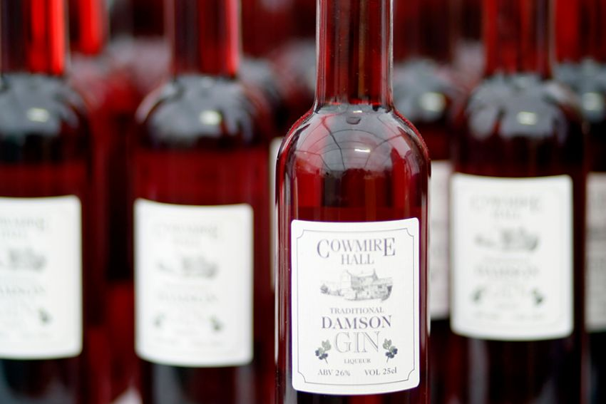 Damson Gin made in the Lake District