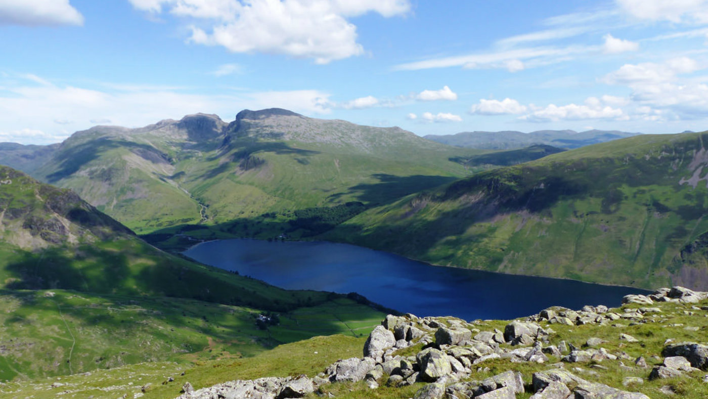 Views of Scafell Pike